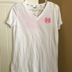 Victoria Secret Pink Campus team T-shirt